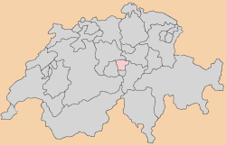 nidwalden Carte