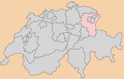 st-gallen Carte